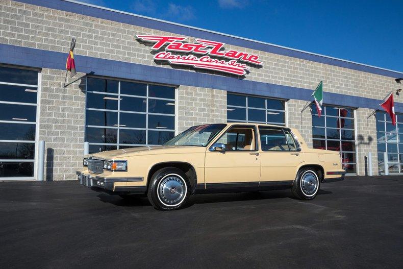 1986 Cadillac Sedan DeVille