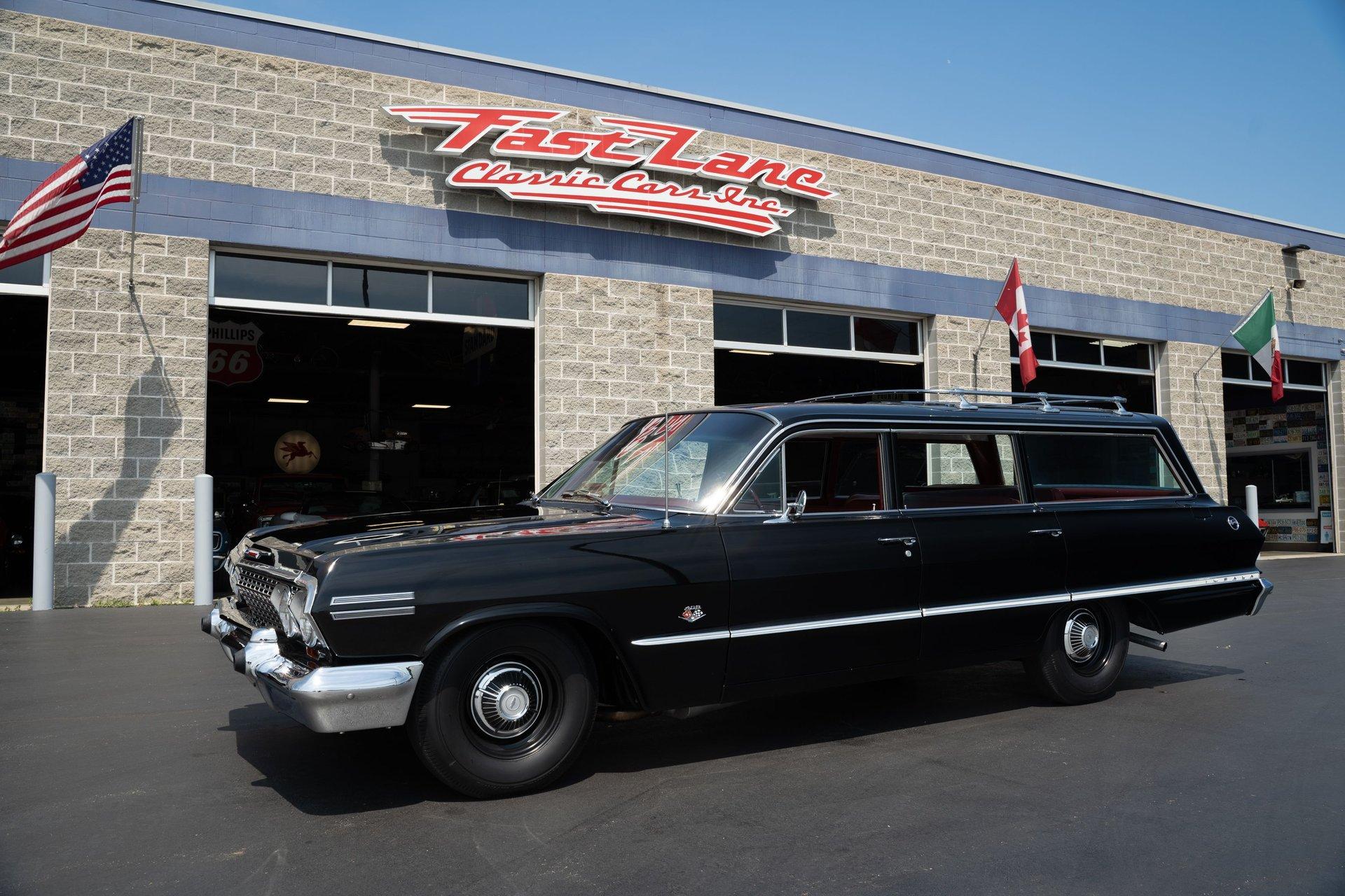 1963 chevrolet impala 9 passenger wagon