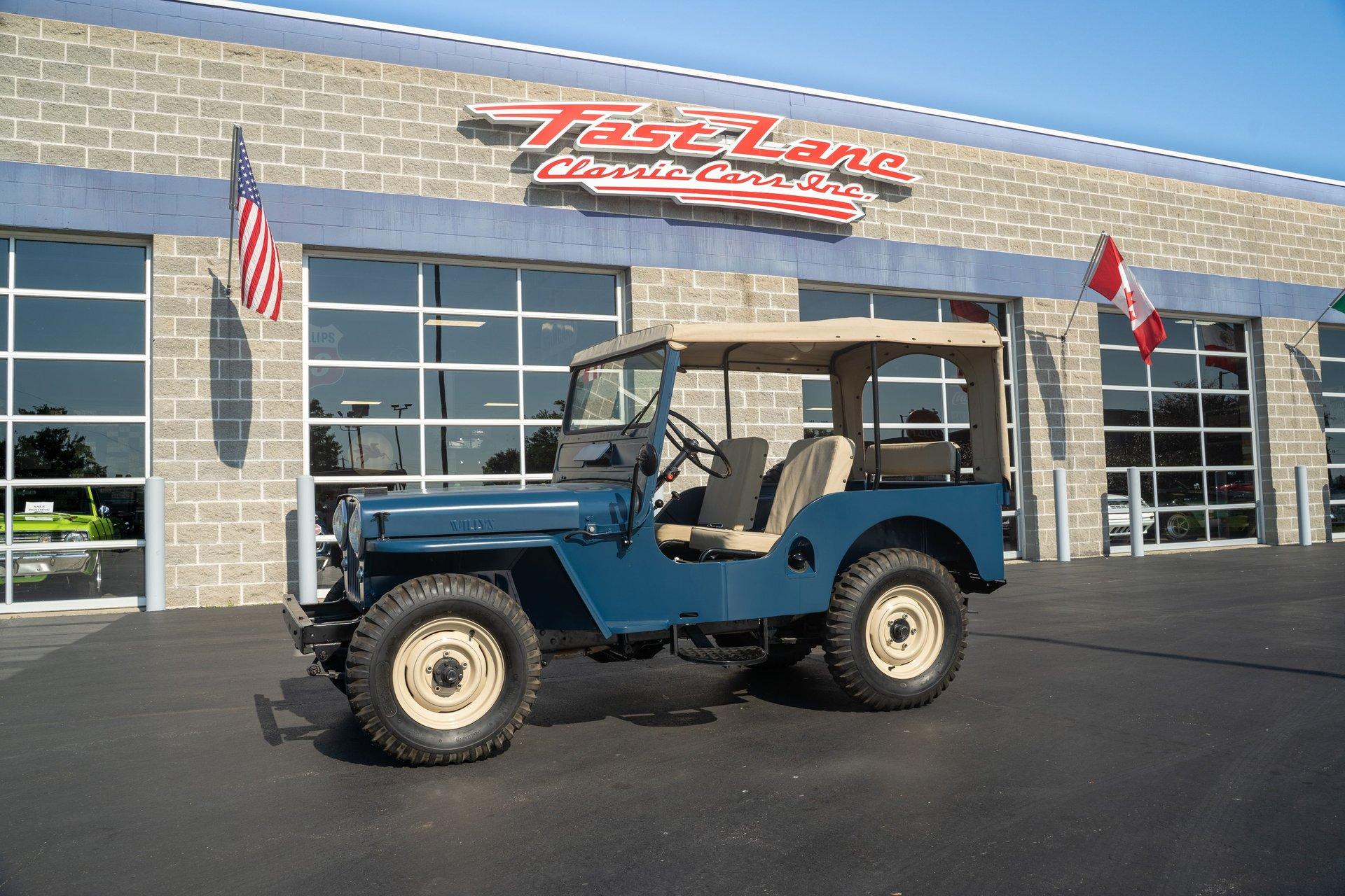 1953 willys jeep cj 3a