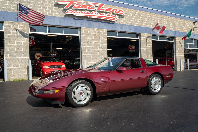 1993 chevrolet corvette anniversary edition