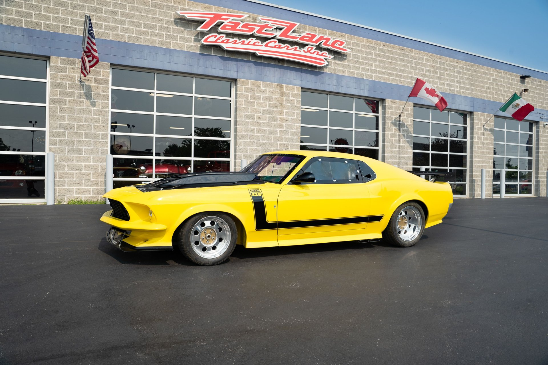 1969 ford mustang race car