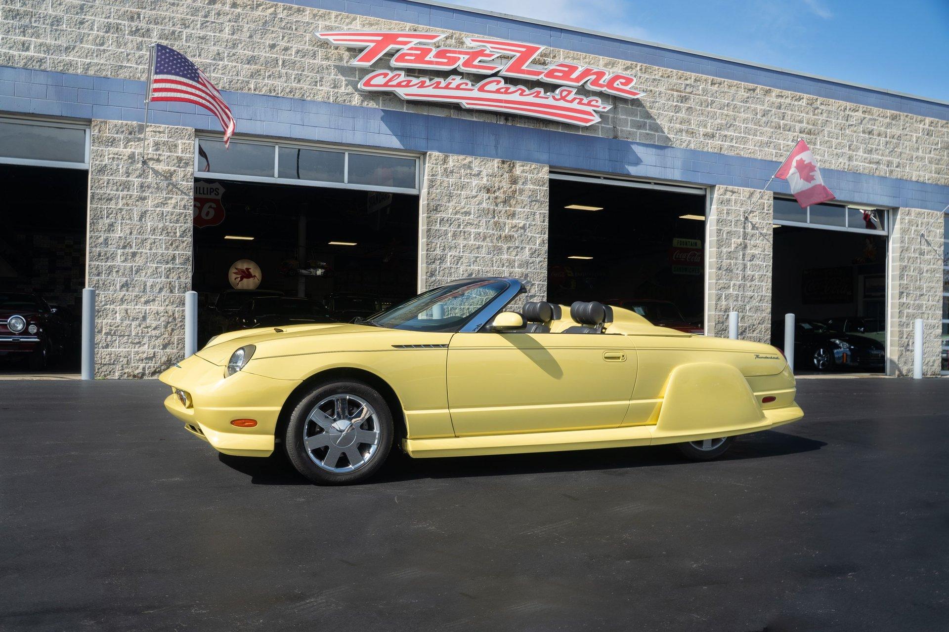 2002 ford thunderbird california custom