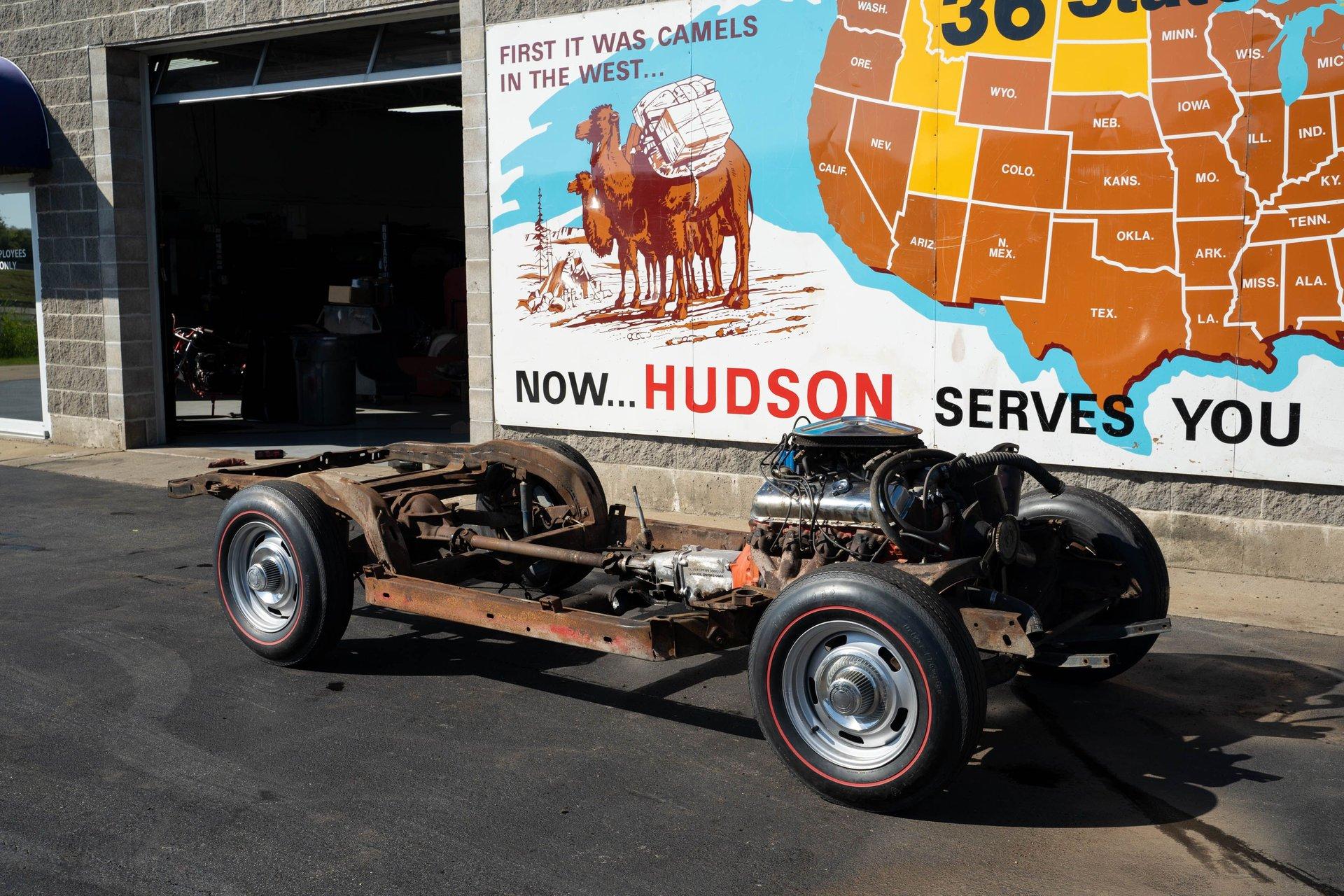 1967 chevrolet corvette rolling chassis