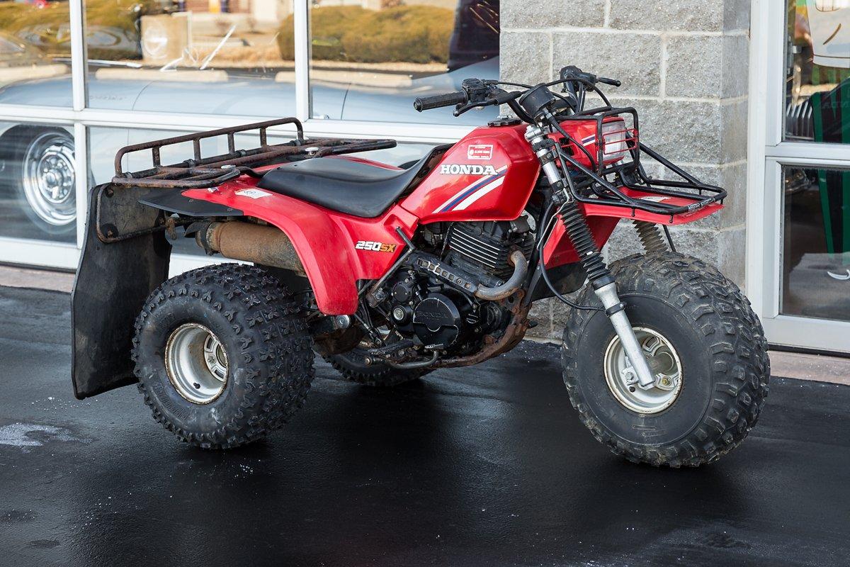 1985 honda 250sx 3 wheeler