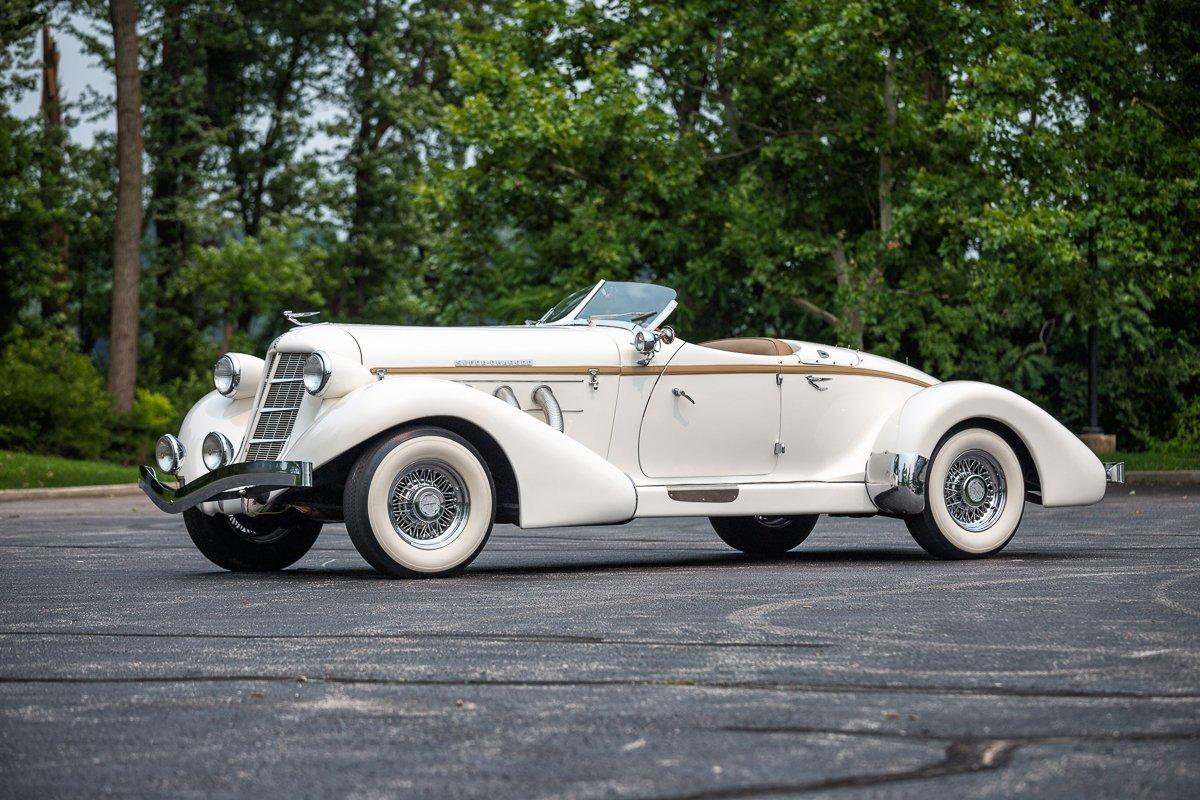 1936 auburn 876 boattail speedster replica