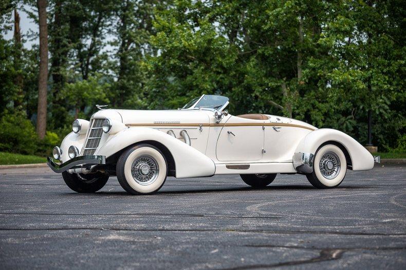 1936 Auburn 876 Boattail