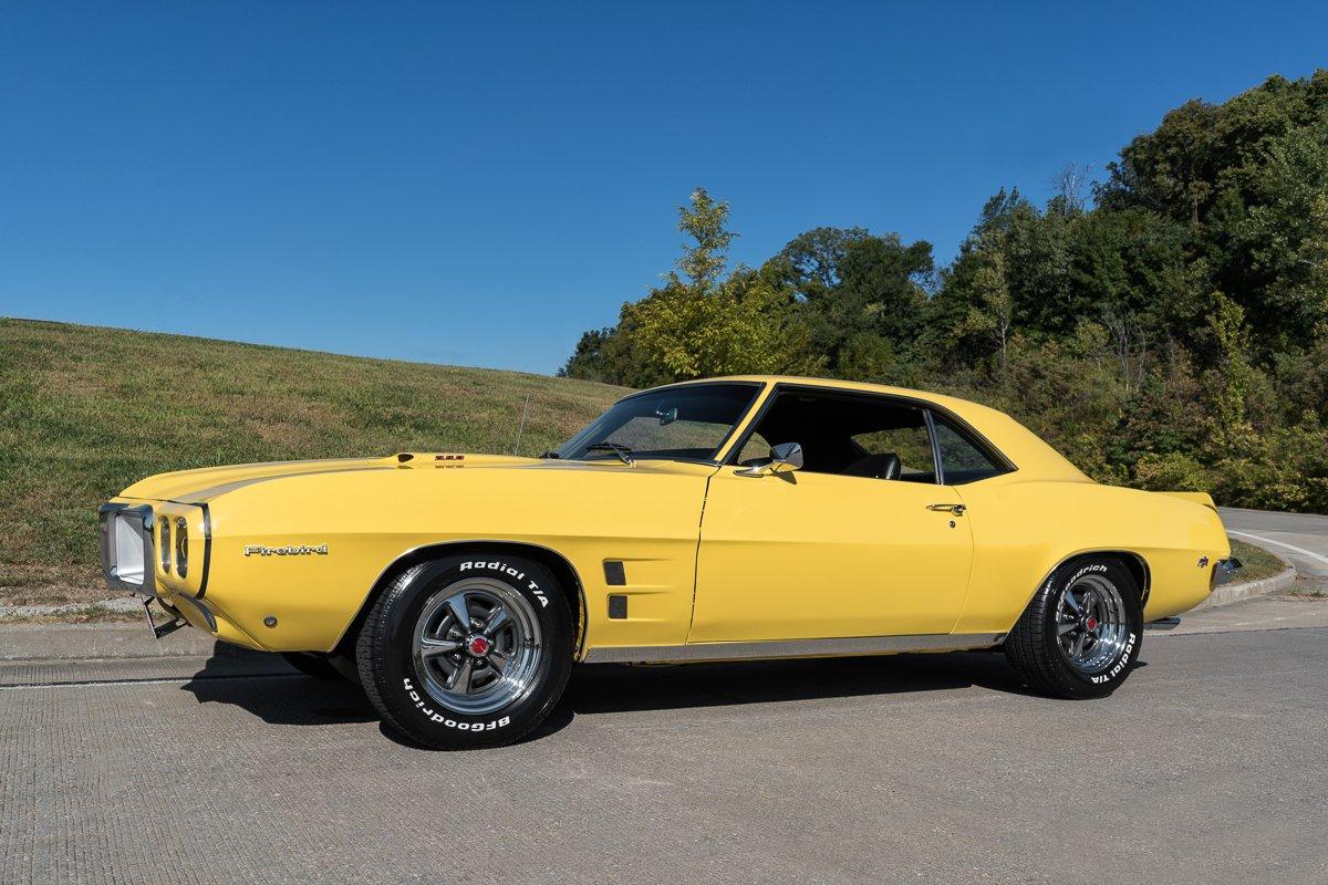 1969 pontiac firebird 350ho