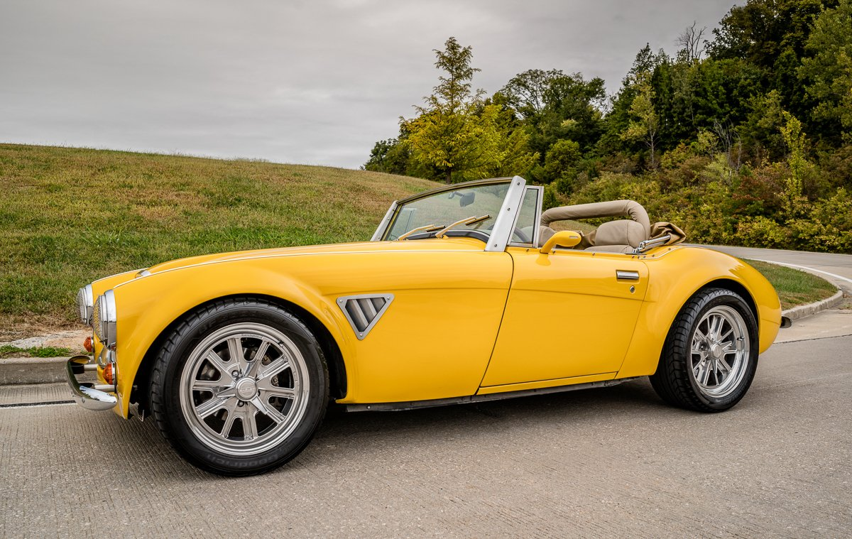 1963 austin healey roadster replica