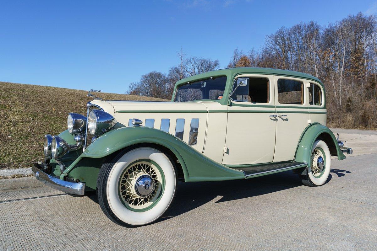 1933 buick model 57 sedan