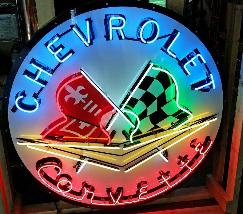 Corvette Neon Sign