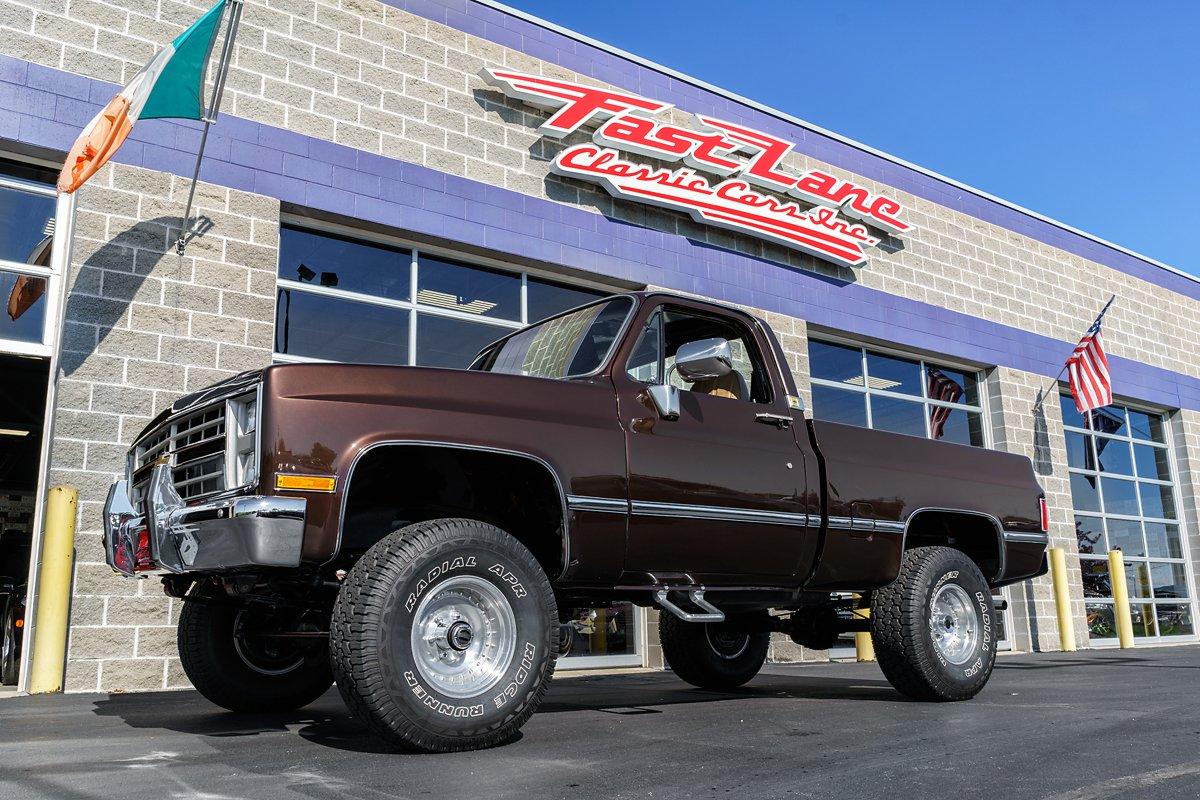 1986 chevrolet 1 2 ton pickup 4x4