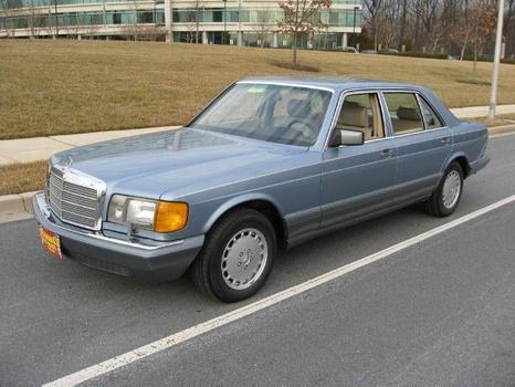 1986 Mercedes-Benz 420SEL