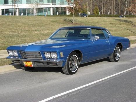 1971 Buick Boattail Riviera