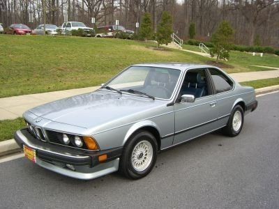 1983 BMW 633