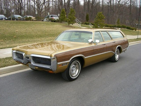 1972 Plymouth Sport Suburban Brougham Wagon