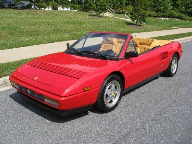 1989 Ferrari Mondial 1989 Ferrari Mondial For Sale To Buy