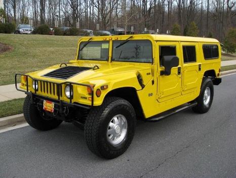 2001 Hummer Wagon