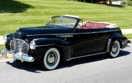 1941 Buick Super 50 Phaeton