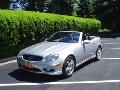 2002 Mercedes-Benz SLK32