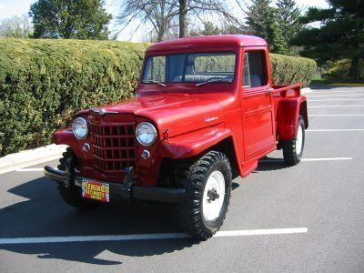 1952 Willys Pick-up