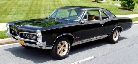 1967 Pontiac GTO H.O.