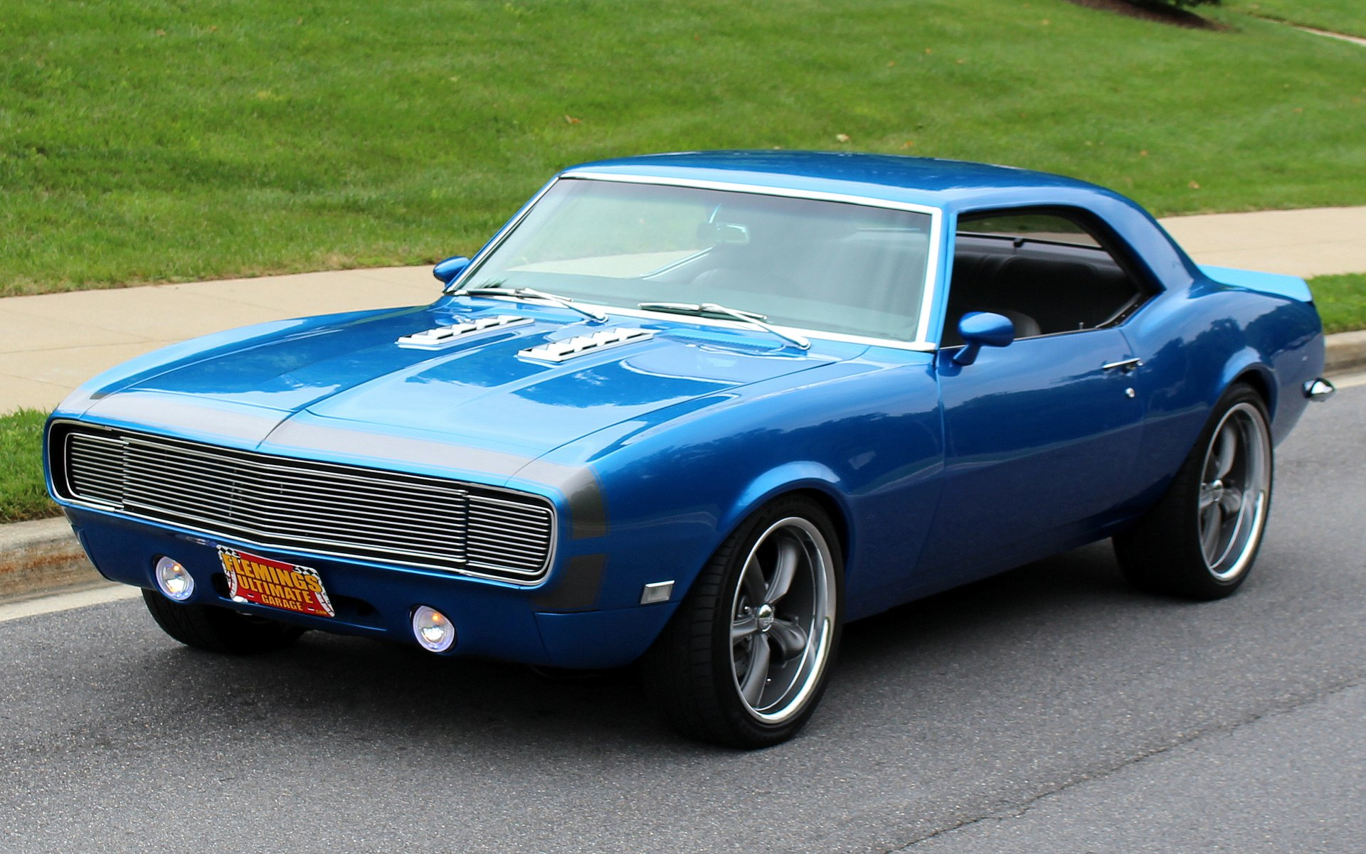 1968 Chevrolet Camaro Rs Ss Pro Touring For Sale 51372 Mcg Blue