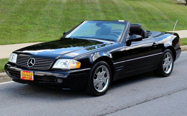 21+ 2000 Mercedes Sl500 Convertible