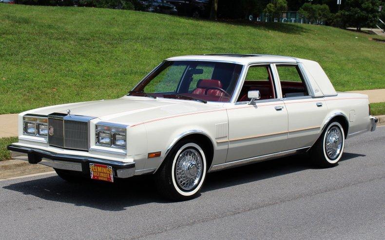 1985 Chrysler Fifth Avenue ...