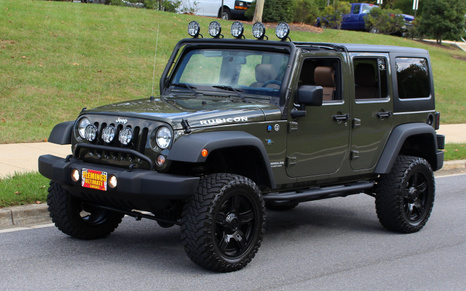 2015 Jeep RUBICON UNLIMITED CUSTOM