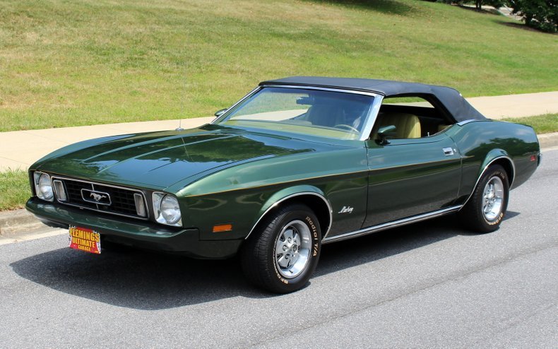 1973 Ford Mustang 1973 Ford Mustang Convertible For Sale Q Code