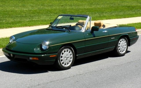 1991 Alfa Romeo Spyder
