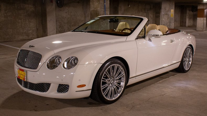 2010 Bentley Continental GTC For Sale