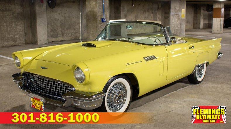 1957 Ford Thunderbird For Sale