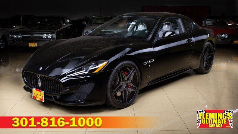 2016 Maserati GranTurismo For Sale