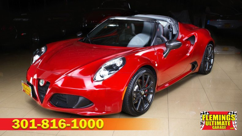 2016 Alfa Romeo 4C For Sale