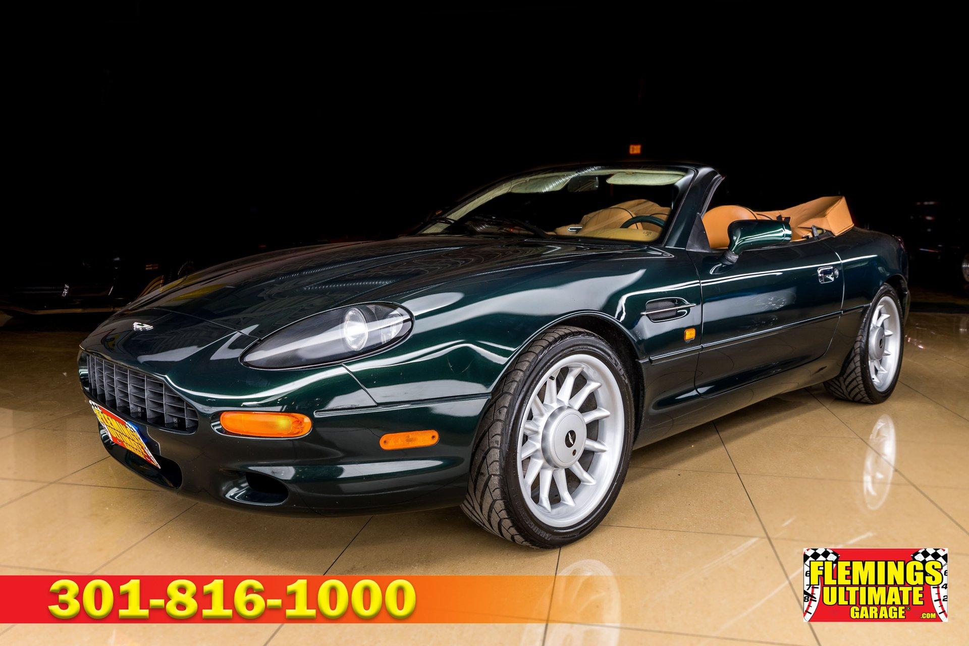 1998 Aston Martin Db7 Vantage Volante Convertible For Sale 225957 Motorious