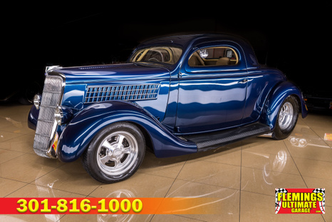 1935 Ford 3-window coupe