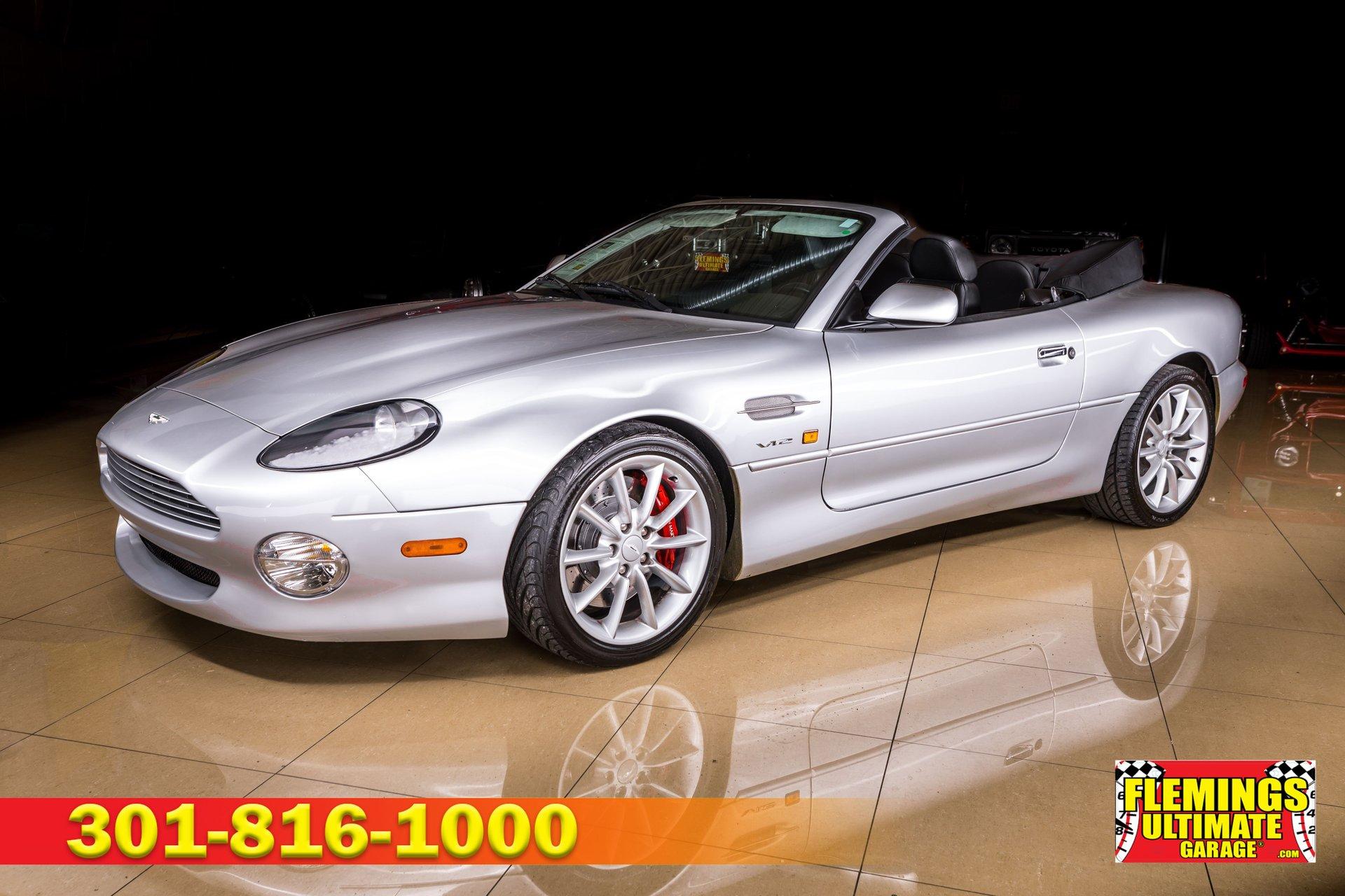 2000 Aston Martin Db7 Vantage Volante For Sale 229496 Motorious