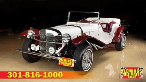 1929 Mercedes SSK replica