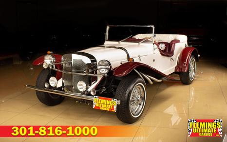 1929 Mercedes SSK roadster