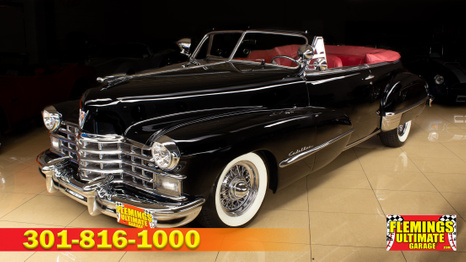 1947 Cadillac Pro touring convertible
