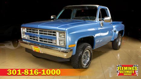 1981 Chevrolet K10 stepside