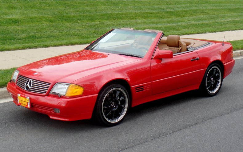 1992 mercedes benz 300sl