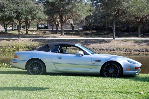 1998 aston martin db7 alfred dunhill edt
