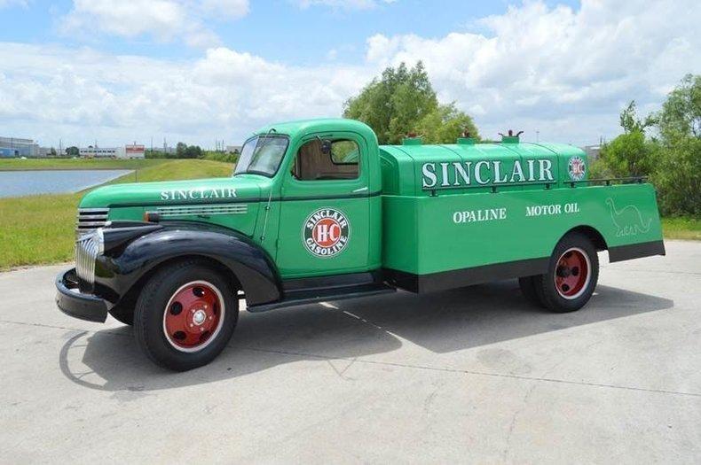 1946 chevrolet tanker truck