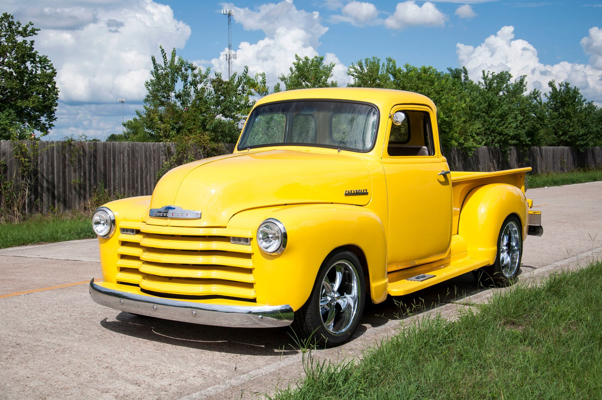 1952 chevrolet 5 window custom gmc