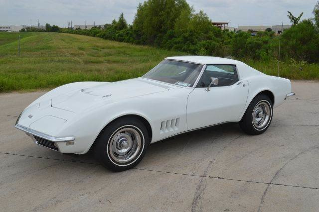 1968 chevrolet corvette 427 390hp factory ac