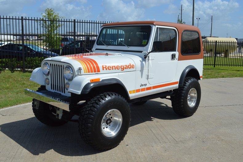 Cj7 Jeep For Sale >> Amc Jeep Cj7 Renegade