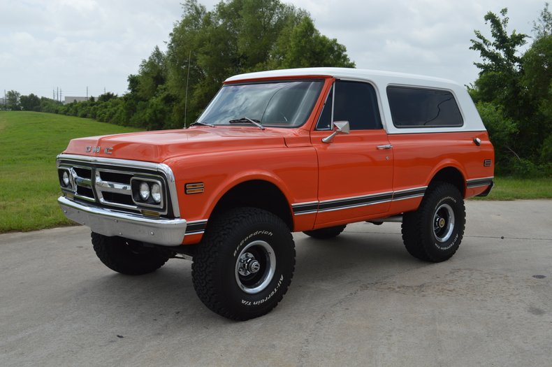1972 GMC Jimmy (K5 Blazer) 4x4