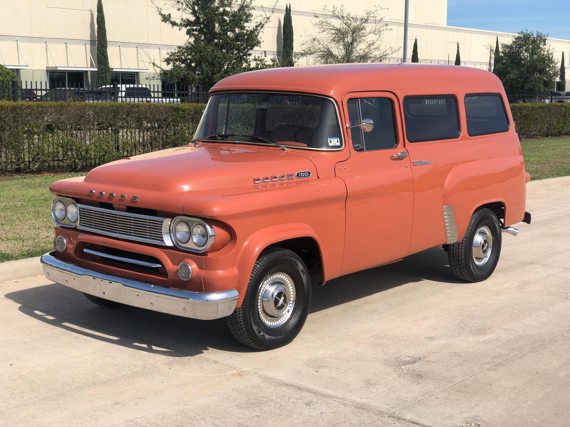 1962 dodge d100 town wagon